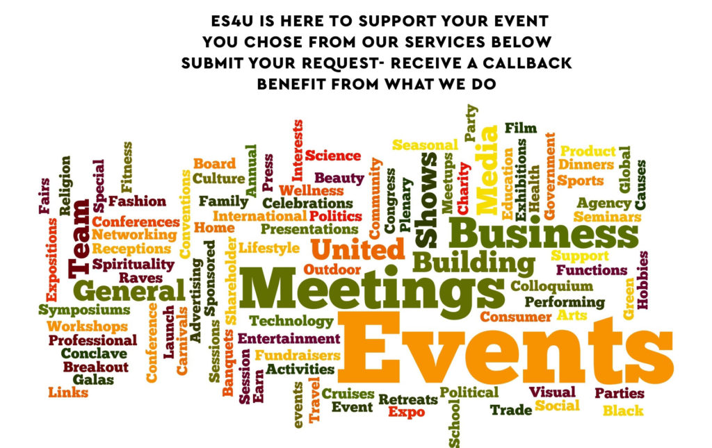 Event Support 4 U